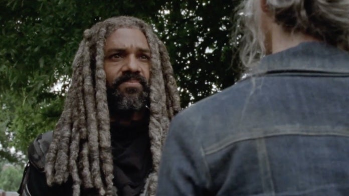 The Walking Dead King Ezekiel Carol