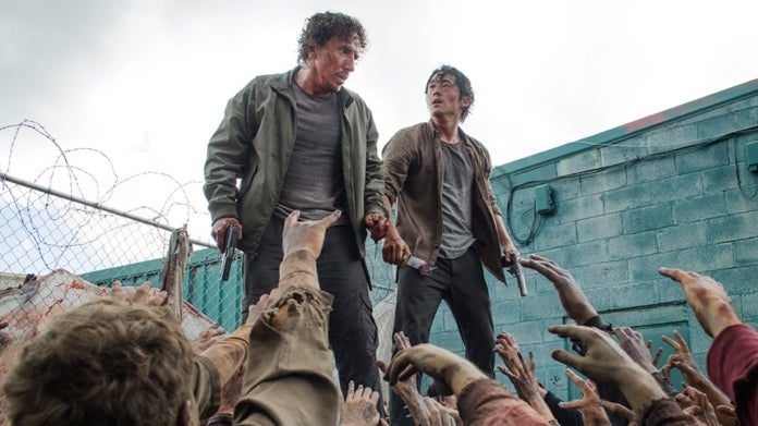 The Walking Dead Michael Traynor Steven Yeun Nicolas Glenn