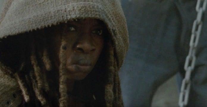The Walking Dead Michonne flashback