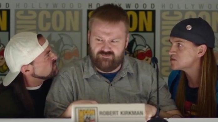 The Walking Dead Robert Kirkman Jay and Silent Bob Reboot
