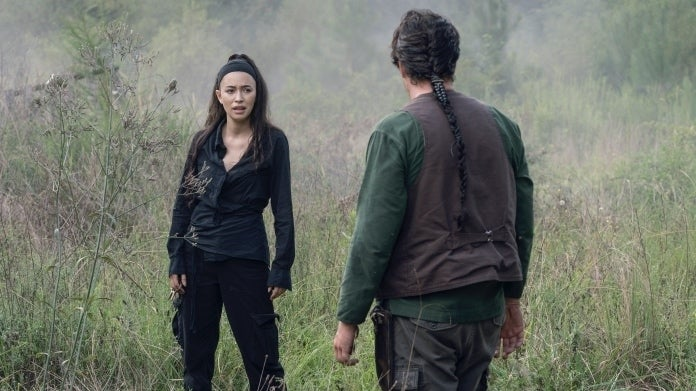 The Walking Dead Season 10 Rosita Eugene