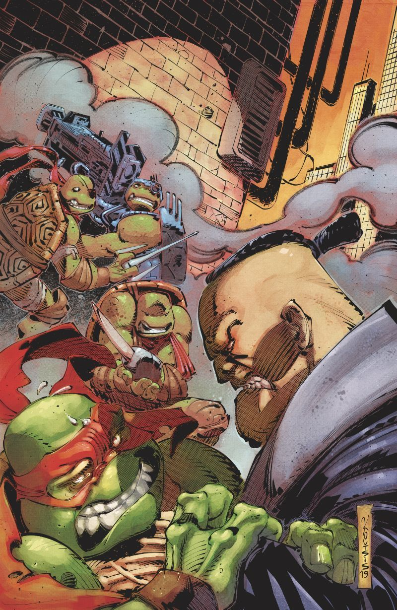 TMNT Urban Legends #24 - Cover RI-B by Nikos Koutsis cropped