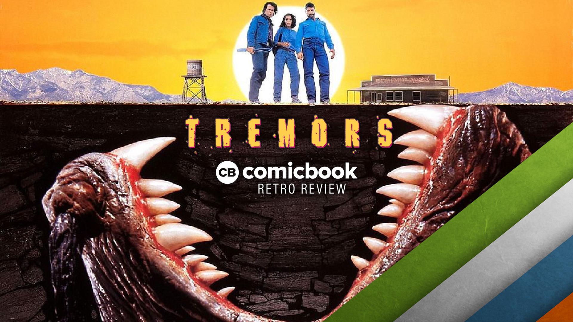 TREMORS (1990) Retro Movie Review screen capture