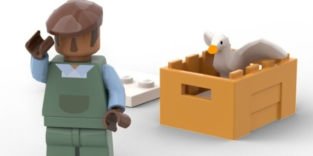 An Untitled Goose Game LEGO Set Might Happen if Enough People Vote for It
