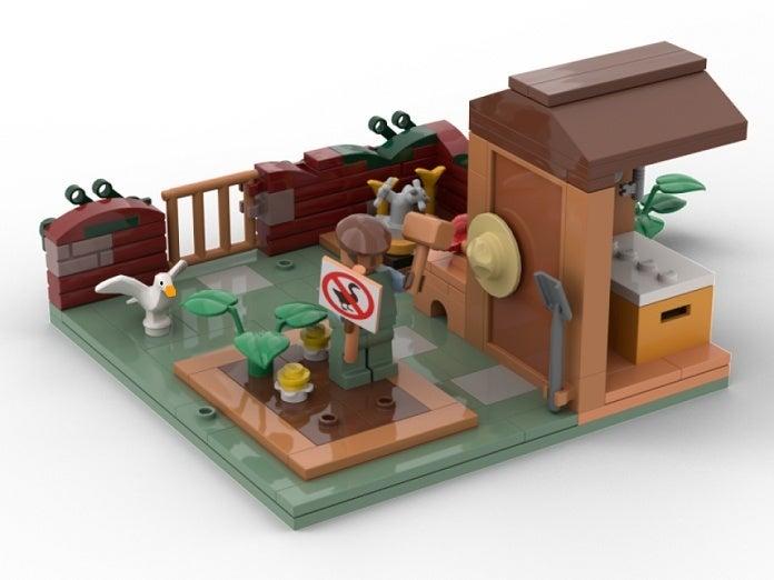 Untitled Goose Game LEGO