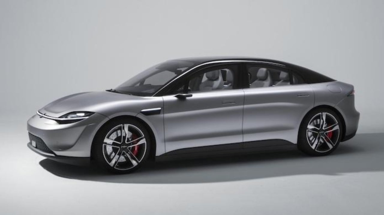 Sony Shocks CES With the Reveal of New Electric Car