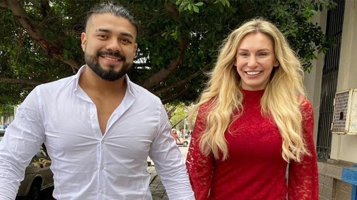 WWE-Charlotte-Flair-Andrade-Engaged