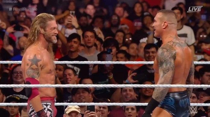 WWE Edge Randy Orton Rated RKO Royal Rumble 2020