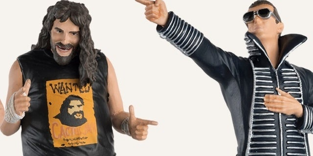 Hero Collector Reveals New Figures, Featuring Mick Foley, The Miz, and More