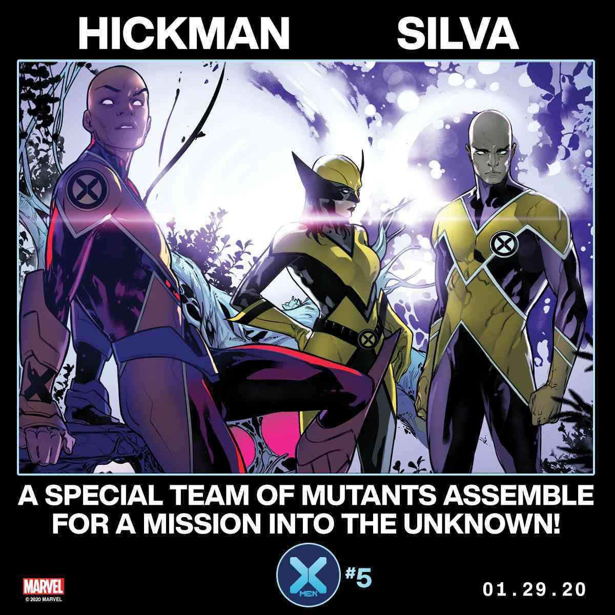 X-Men #4 Marvel Comics Hickman