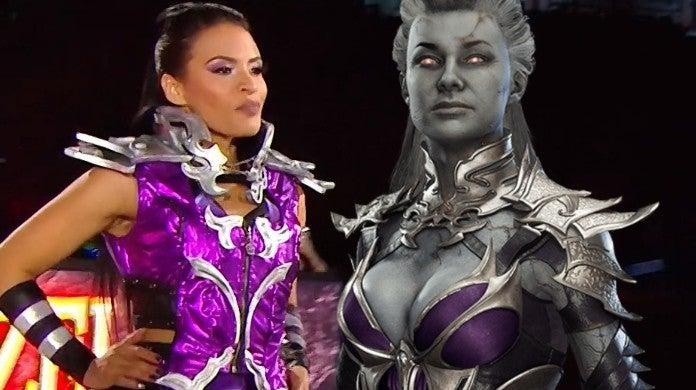 Zelina Vega WWE Mortal Kombat Sindel Gear