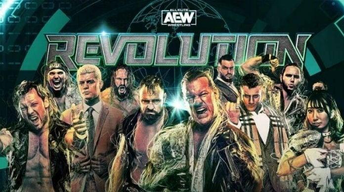 AEW-Revolution-Poster