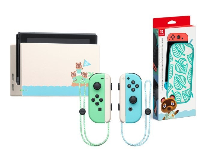 Animal Crossing New Horizons Nintendo Switch And Aloha Carrying