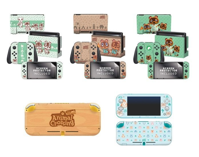 Animal Crossing New Horizons New Switch Skins Companion Guide