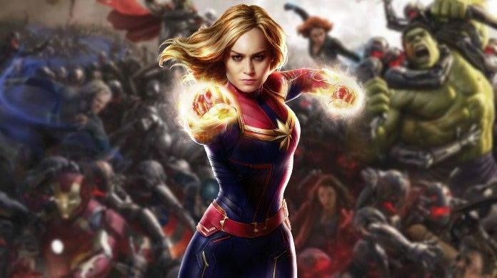 Avengers Age of Ultron Captain Marvel Deleted Scene Video