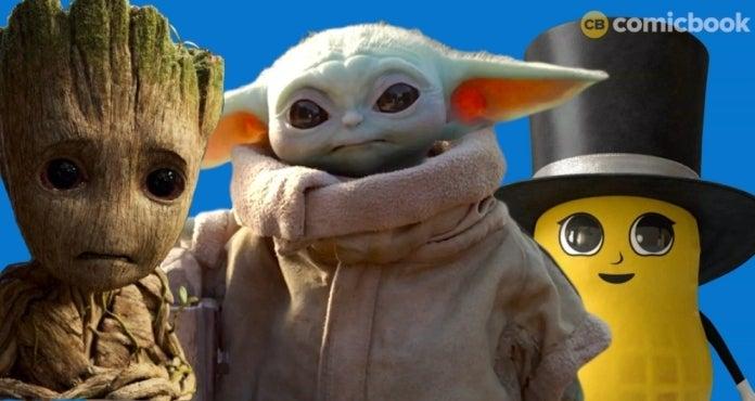 Baby Nut Baby Yoda Baby Groot comicbookcom