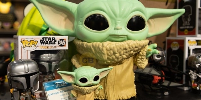 Toy Fair: Funko Reveals Up-Close Look at Baby Yoda POPs