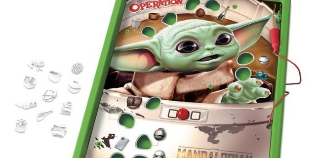 Baby Yoda Stars in The Mandalorian Operation and Trouble Board Games