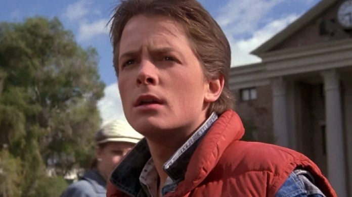 back to the future marty mcfly michael j fox