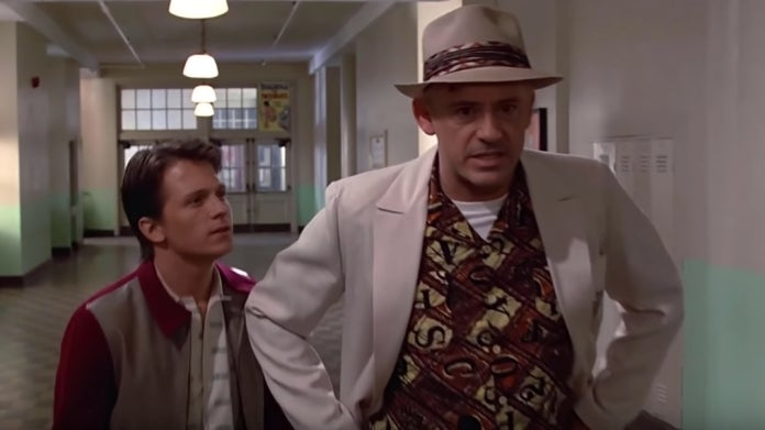 Back to the Future Tom Holland Robert Downey Jr