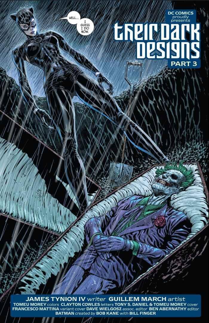 Batman Catwoman Joker