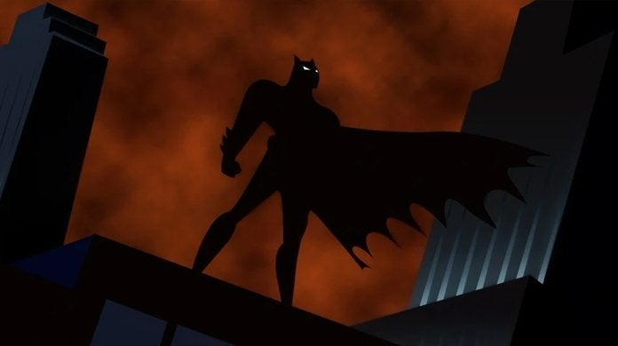 batman the animated series white eyes