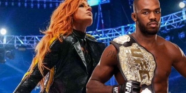 Becky Lynch Has Issues With Jon Jones' WWE Comment