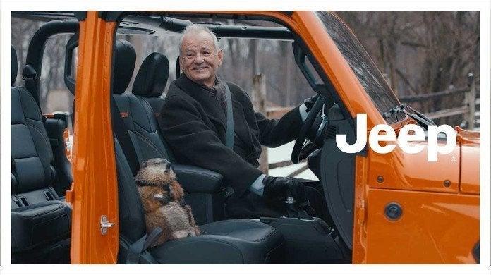 Bill Murray Jeep ad super bowl
