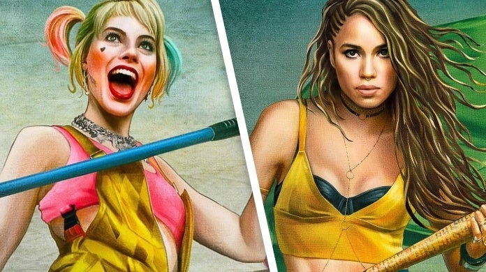 birds of prey harley quinn black canary