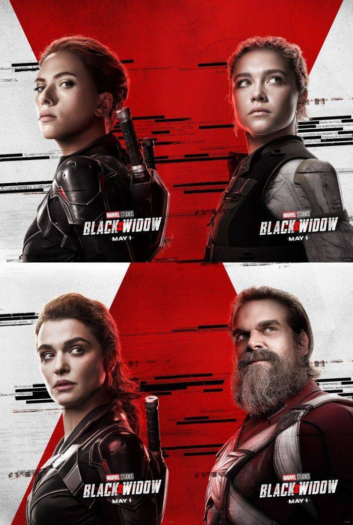 black widow character poster easter egg