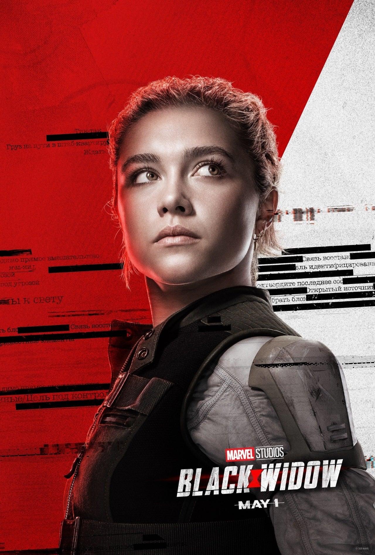 black widow yelena belova character poster