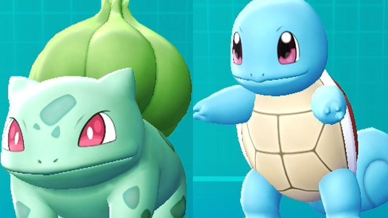 bulbasaur squirtle