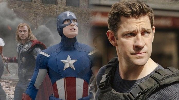 Captain America Thor John Krasinski comicbookcom
