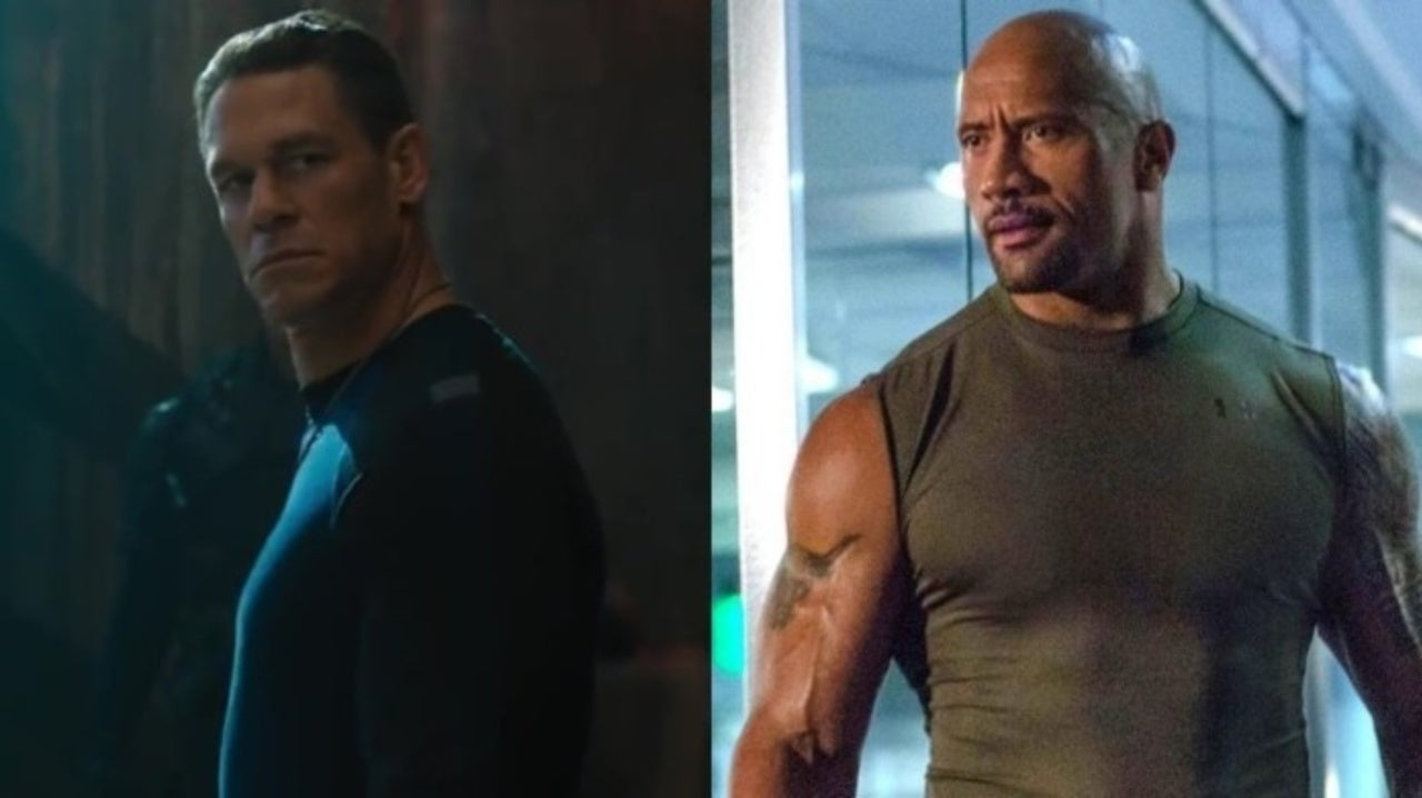 John Cena Teases Showdown With The Rock in Fast 10