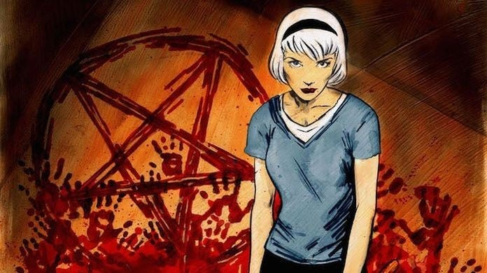 chilling adventures of sabrina comic
