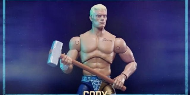 Photos: AEW Debuts First Line of Official Action Figures