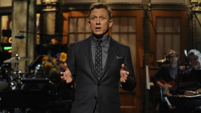 daniel craig saturday night live