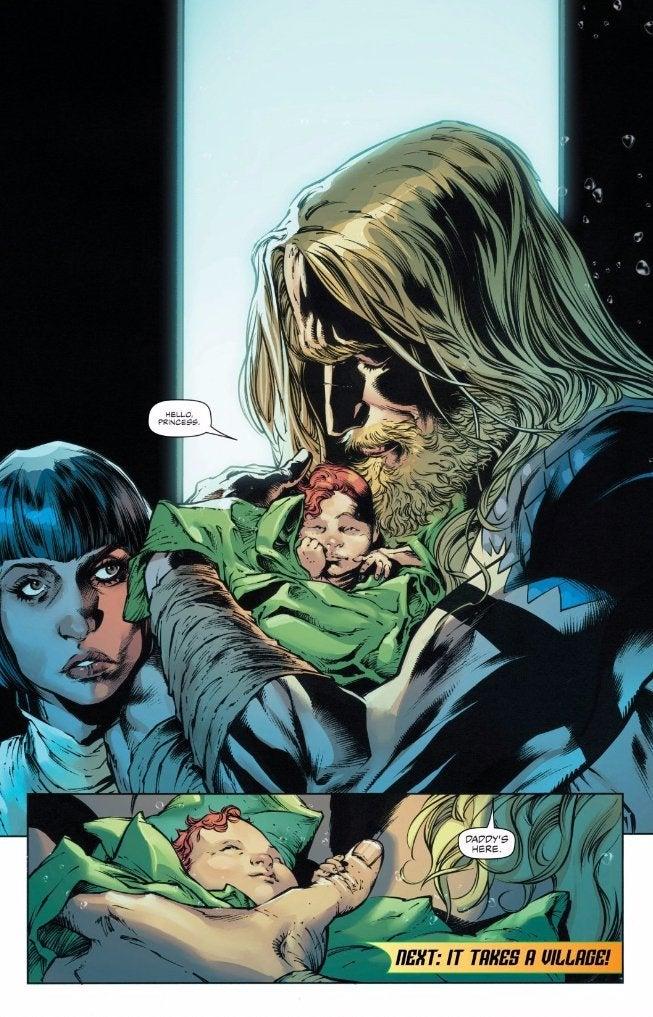 DC-Mera-Aquaman-Baby-Girl-Spoilers