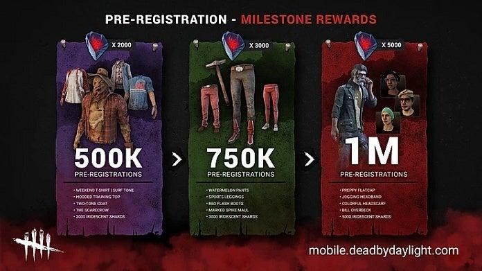 Dead by Daylight Mobile Rewards