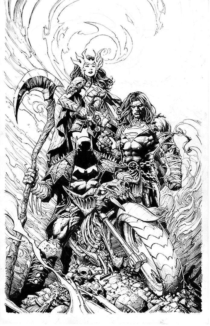 death metal #1 david finch