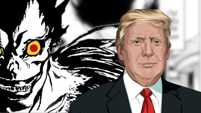 Death Note 2020 One Shot Donald Trump Reactions Trending Anime Politics