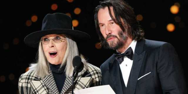 Diane Keaton Screams at Keanu Reeves in Hilarious John Wick Fan Edit