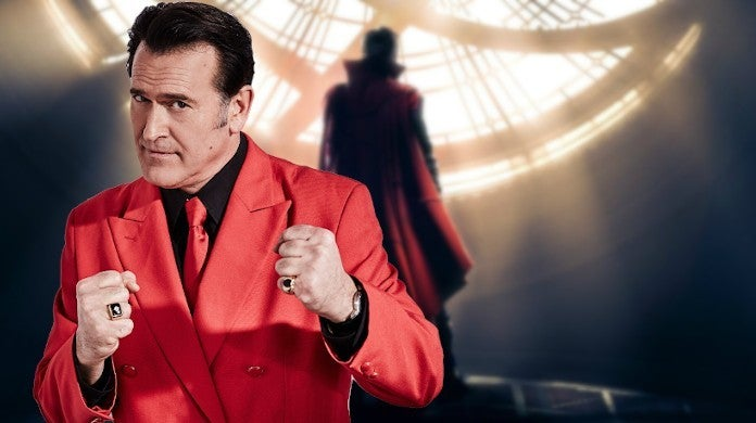 Doctor Strange 2 Bruce Campbell Comments Sam Raimi Directing