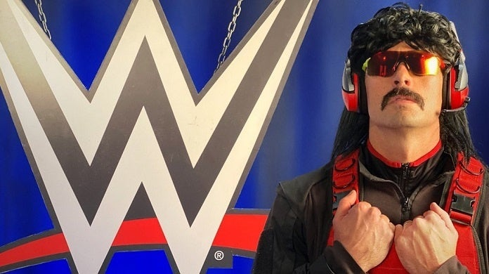 Dr Disrespect WWE