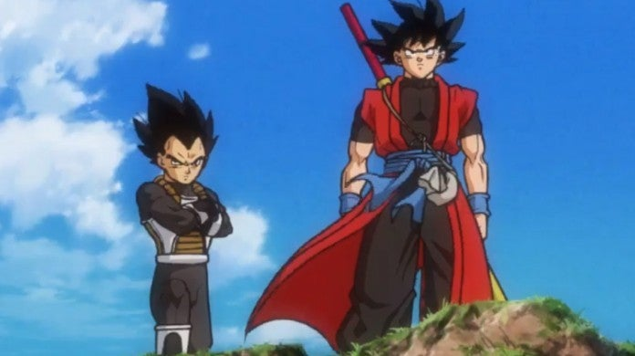 Dragon Ball Heroes Goku Vegeta Xeno