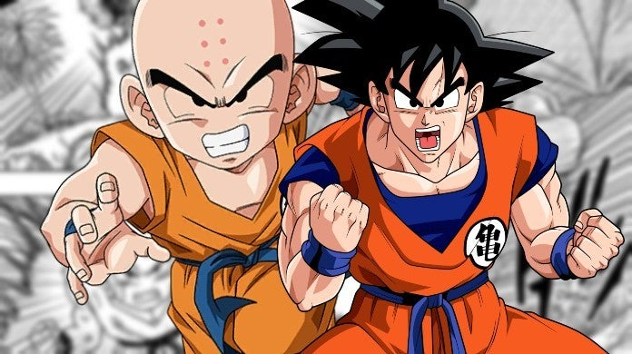 Dragon Ball Super Goku Krillin Chapter 57