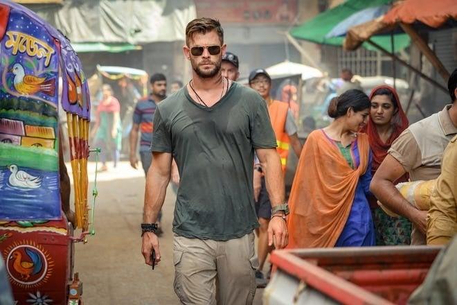 extracción Chris Hemsworth Netflix 2