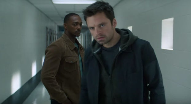 falcon and winter soldier footage
