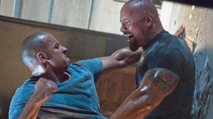 Fast Furious Vin Diesel Dwayne Johnson