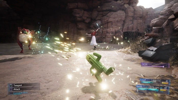 final fantasy 7 remake cactuar summon cropped hed
